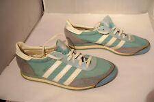 Vintage 80's Adidas ORION Womens 8.5 Tennis Running Shoes Sneakers Taiwan Aqua