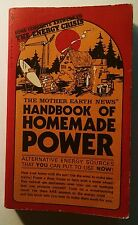 Handbook of Homemade Power, Mother Earth News