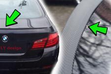 BMW e46 STATION WAGON TOURING AUTO SPOILER Carbonio OTTICA SLIM labbro DIFFUSORE REAR ALETTONE