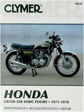 Clymer Repair Manual for Honda CB 350 550 SOHC Fours 71-78 M332