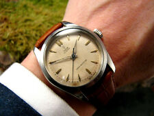 1955 WAFFLE Vintage ROLEX TUDOR OYSTER 7904 34mm Retro Men's Watch