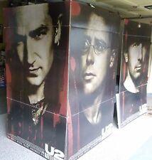 U2 Rattle & Hum ORIGINAL theater floor display. Rare collectors item!