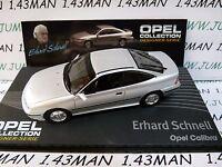 OPE136R 1/43 IXO designer serie OPEL collection : CALIBRA E.Schnell silver
