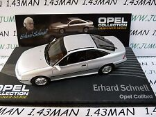 OPE136R 1/43 IXO designer serie OPEL collection : CALIBRA E.Schnell silver