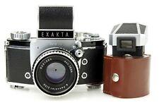 IHAGEE EXAKTA VAREX II b VX IIb camera lens ZEISS PANCOLAR 50mm f/2 * SERVICED