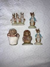 New ListingBeswick Beatrix Potter Figurines Lot of 5