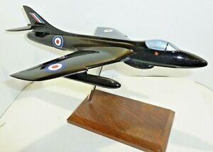 Desk display Aircraft Space models Refinished Hawker Hunter Black Arrows 1/48