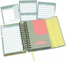 Boxclever Press Portable Budget Planner. Undated Monthly Bill Organizer with Poc