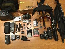 Nikon D810 36.3 MP Digital SLR Camera,w/3Lens/Flash,HUGE STUDIO ,W/MATTBOX - NEW