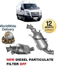 FOR VOLKSWAGEN VW CRAFTER 2.5 TDi 2006--> NEW DPF SOOT DIESEL PARTICULATE FILTER
