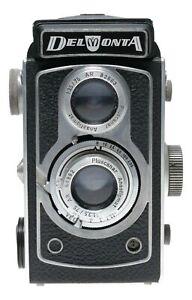 Montanus Potthoff Delmonta TLR 120 Film Camera Pluscanar 1:3.5/75