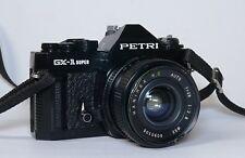 Petri gx-1 Super SLR Appareil Photo Hanimex MC Voiture 28 mm 2,8 Objectif grand angle p457