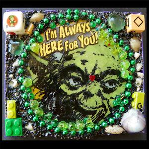 Yoda, Jedi Master, Star Wars, Sheet, Dice, Green Lego, Empire Strikes, Mr. G Art