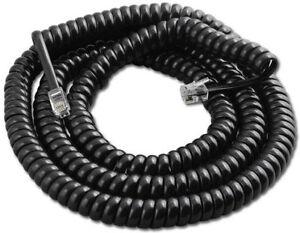 25 Black 25' Vodavi Infinite 3516 IN9011 IN9012 IN9014 IN9015 71 Handset Cords