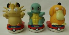 POKEMON Giocattolo Trio. MEOWTH, Squirtle & Psyduck. 2000. Nintendo. Tiger Electronics.
