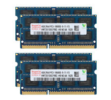 16GB Hynix 4pcs 4GB 2RX8 DDR3 1333MHz PC3-10600S 204PIN SODIMM Laptop Memory RAM