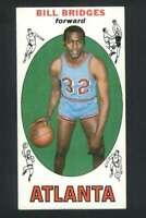 1969-70 Topps #86 Bill Bridges EXMT/EXMT+ RC Rookie Hawks 133371