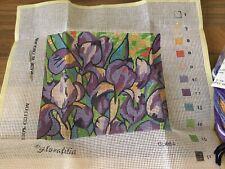 Small Glorifilia Tapestry Kit With Wools