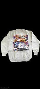 Chase Vintage Nascar Atti2ude Rusty Wallace Long Sleeves Sweat Shirt Sz M