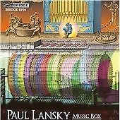 Paul Lansky-Music Box CD NEW