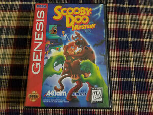 Scooby-Doo Mystery - Authentic - Sega Genesis - Case / Box Only!