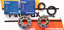 Honda NSR125 Koyo Crankshaft / Crank Main Bearing & Seal Kit