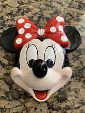 Walt Disney Minnie Mouse Face Mask 8X8 Schmid - Ceramic - Vintage - Excellent