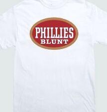 PHILLY Blunt Phillies T-shirt Tee 420 Smokers weed marijuana Mary Jane Smoke