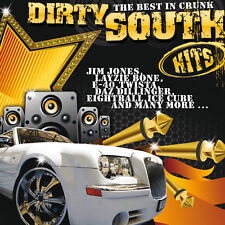Crunk CD Dirty South Hits The Mejor En Francisco de Varios Artistas 2CDs