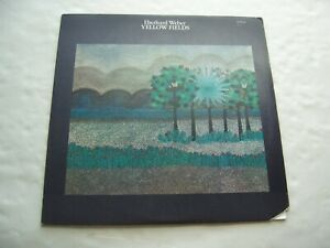"""jazz bass EBERHARD WEBER """"Yellow Fields"""" US orig ECM lbl LP!!"""