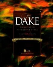 Holy Bible: King James Version, Dake's Annotated Reference by