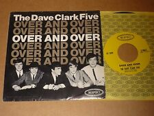 """Dave Clark Five """"Over And Over"""" US Epic P/C 45"""