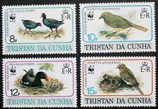 Endangered species: Birds stamps, 1991, Tristan da Cunha, SG ref: 518-521, MNH