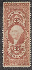 Travelstamps:1862-1871 US Scott R44c 25 Cent Mint NG Revenue Certificate Stamp