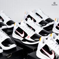 Nike Kobe 5 Protro Bruce Lee Alternate White Black Men's size Shoes CD4991-101
