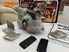 Slave 1 Vehicle 1983 COMPLETE Star Wars Return Of The Jedi Spaceship In Box