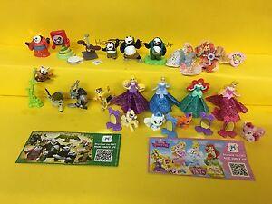 Einzelfiguren zur Auswahl Kung Fu Panda 3 , Disney Prinzessin  mit BPZ