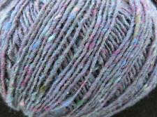 (14,75 €/100 g): 100 g Fine Donegal  von Debbie Bliss, blau/lila 54010 #2267