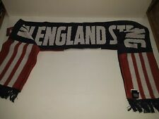 """New England Revolution MLS """"Strong""""  Soccer Club Scarf"""