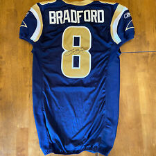 Sam Bradford Signed Autographed Game / Team Issued Rams Jersey 2007 Beckett COA