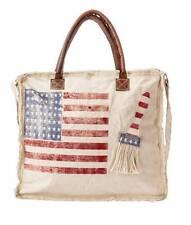 NWT The Armstrong Handmade Bag with American Flag