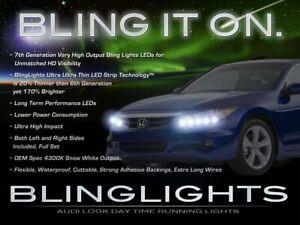 BlingLights LED DRL Head Light Strips Daytime Running Lamps for Honda Accord