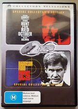 The Hunt For Red October / Patriot Games (2 Disc Set) DVD LIKE NEW (Region 4)