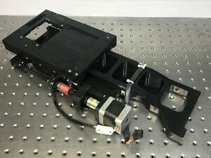 """Parker OEM Linear Actuator Stage 3"""" Travel w/ Stepper Motor, Sub Micron Encoder"""
