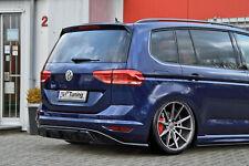 Heckspoiler Heckansatz Spoiler Diffusor aus ABS für VW Touran 5T