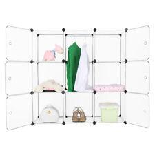 9 -Cube DIY Garde-Robe Armoire Penderie Étagère Rangement Placard De Vêtement FR