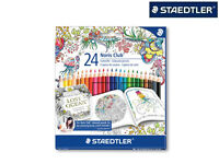 STAEDTLER Farbstifte Noris Club 24er-Box Johanna Basford Design 144 C24JB NEU