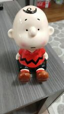 1950, 1966 Schmid Peanuts Charlie Brown Ceramic Music Box