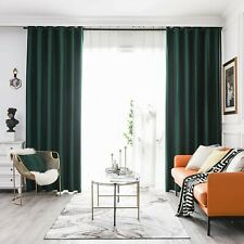 2 Panels Velvet Blackout Window Curtains Drapes Grommet/Rod Pocket 63/84/95/108