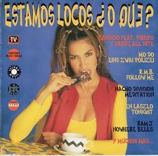 "MO-DO - PIROPO - KEN LASZLO ""ESTAMOS LOCOS O QUE"" PROMO CD SINGLE / EURODANCE"